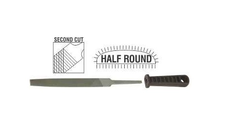 AFT4125 - File Afile Rasp HR 2nd Cut 150mm Sleeve - proper image a